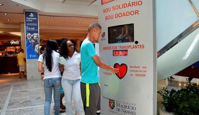 Campanhas ajudam, mas taxa de doação segue baixa em relação à média do país - Foto: Divulgação