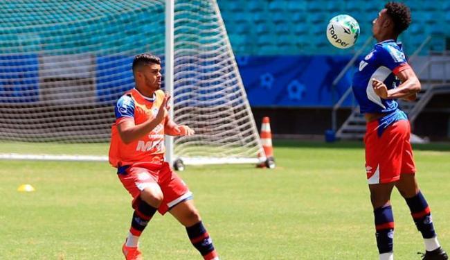Tricolor fez o último treino antes de enfrentar o Vasco - Foto: Felipe Oliveira | EC Bahia