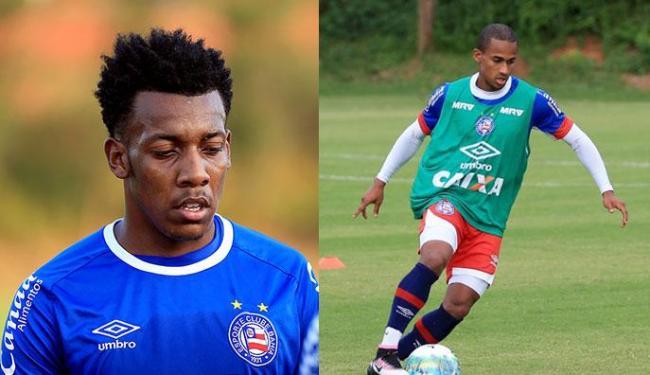 Moisés e Eduardo ainda não perderam quando atuaram juntos - Foto: Felipe Oliveira | EC Bahia