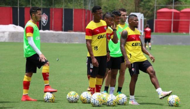 Marinho se recuperou de virose e treinou normalmente nesta quinta-feira, 29 - Foto: Francisco Galvão   EC Vitória
