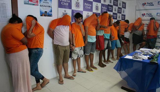 Bando de Goiaba é capturado em operação policial em cinco cidades - Foto: Edilson Lima | Ag. A TARDE