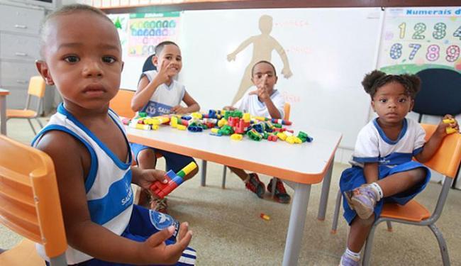 Ações como dobrar o número de vagas na educação infantil foram apontadas como essenciais - Foto: Joá Souza l Ag. A TARDE l 19.5.2016