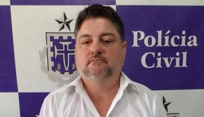 Ademir foi preso enquanto tentava sacar R$ 30 mil da conta de um aposentado mineiro - Foto: Divulgação | Polícia Civil