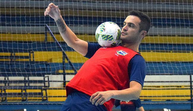 Falcão foi eleito duas vezes o melhor jogador da competição - Foto: Divulgação l CBFS