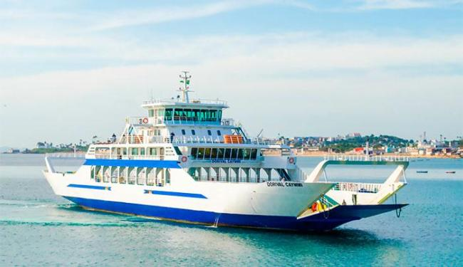 ODorival Caymmi opera normalmente, pois sua rampa de atracação independe da rampa de terrra - Foto: Divulgação | Ferryboat