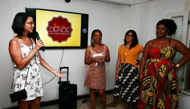 Susana Rebouças, Cleidiana Ramos, Ludmila Cunha e Meire Oliveira apresentaram a revista ao público - Foto: Joá Souza   Ag. A TARDE