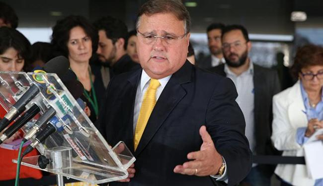 Geddel evitou falar sobre denúncia do MP contra Lula - Foto: Valter Campanato | Agência Brasil