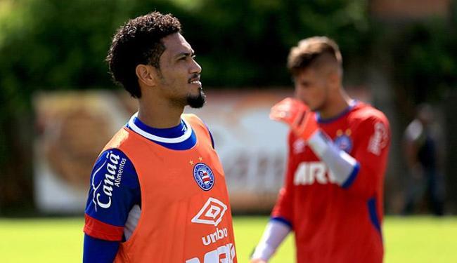 Atacante diz estar pronto para mais um jogo decisivo - Foto: Felipe Oliveira l EC Bahia