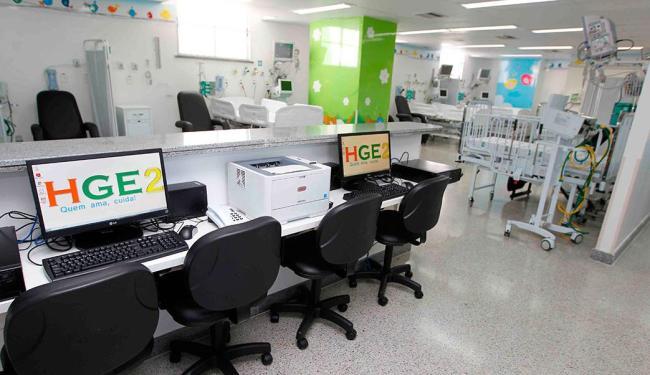 Área para recebimento de pacientes na nova unidade - Foto: Elói Corrêa | Secom Gov-BA | Divulgação