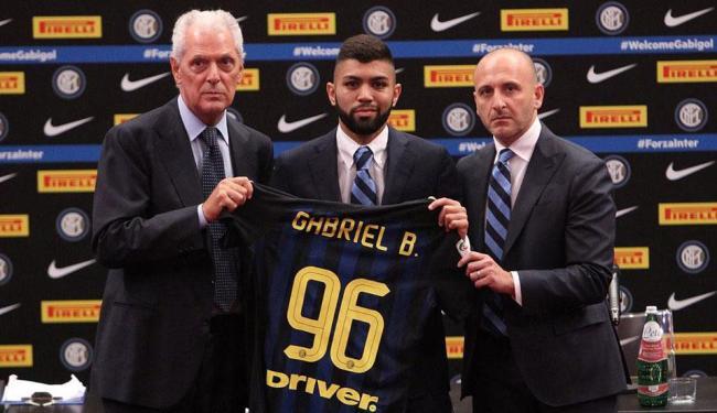 Gabigol foi apresentado nesta quinta-feira, 22, em Milão - Foto: Divulgação | FC Internazionale de Milano