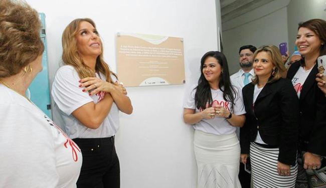 Ivete Sangalo inaugura nova unidade que foi construída com recursos do show de dezembor - Foto: Divulgação