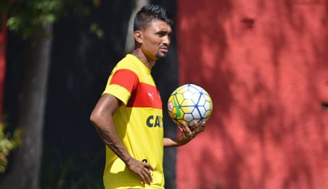 Kieza está há um mês sem marcar gol - Foto: Francisco Galvão l EC Vitória