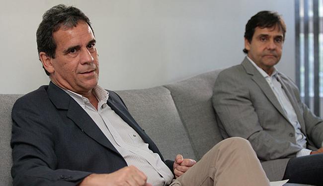 Luciano Muricy Fontes e Cláudio Cunha durante visita ao Grupo A TARDE - Foto: Mila Cordeiro l Ag. A TARDE