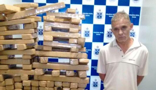 Maconha foi encontrada na fazenda de Toninho - Foto: Divulgação   SSP/BA