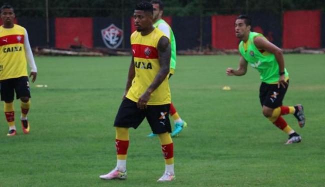 O jogador foi medicado e liberado para voltar para casa para repousar - Foto: Francisco Galvão | EC Vitória