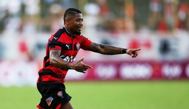 Marinho voltou a fazer a diferença pelo Vitória - Foto: Raul Spinassé | Ag. A TARDE