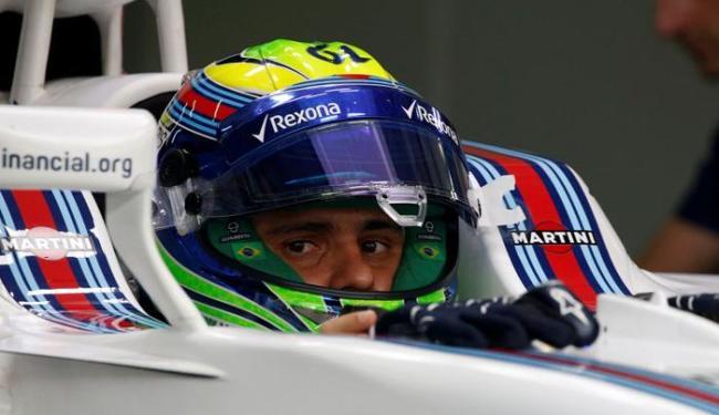 Felipe não ficou satisfeito com o resultado do primeiro treino para o GP da Malásia - Foto: Edgar Su   Reuters