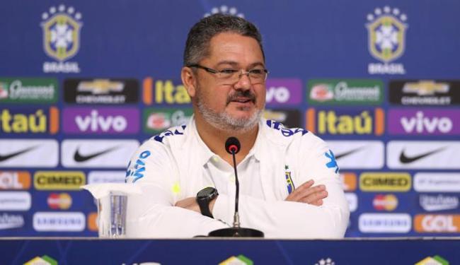 A Seleção de Micale estreia dia 22 de outubro, contra o Uruguai - Foto: Lucas Figueiredo | Mowa Press