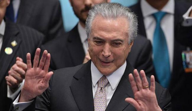 Temer também comentou a declaração do Papa, que falou que o Brasil vive