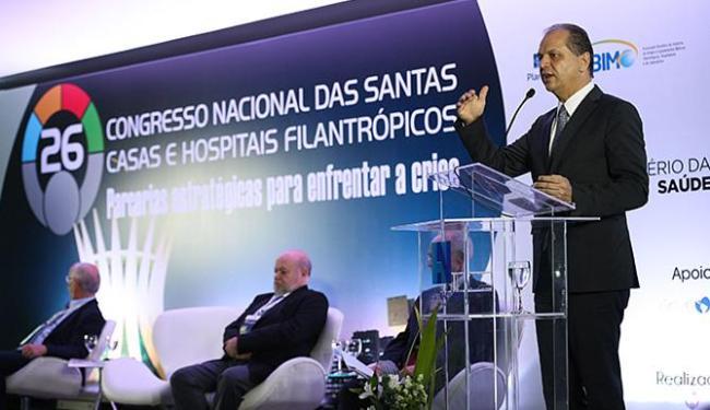 Ministro Ricardo Barros anunciou medidas durante encerramento de congresso - Foto: Elza Fiúza l Agência Brasil