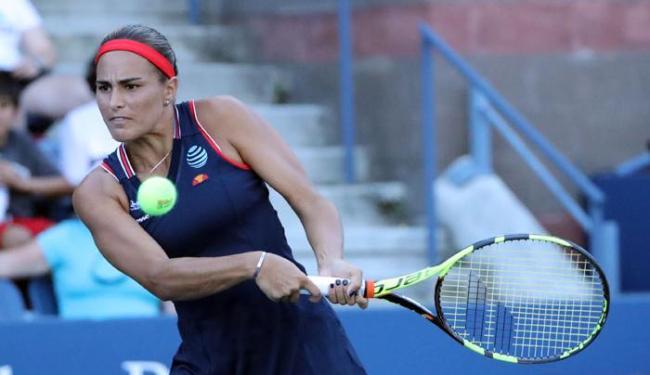Monica Puig voltou a vencer nesta segunda-feira, 19, após ouro olímpico na Rio 2016 - Foto: Anthony Gruppuso | Reuters