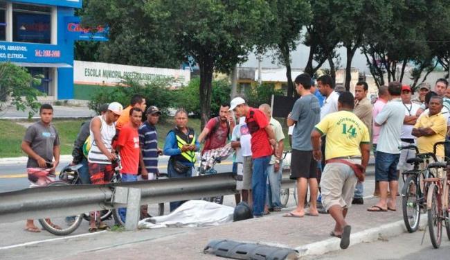 Edilson de Jesus Santos, 28 anos, morreu no local do acidente - Foto: Reprodução | Site Radar 64