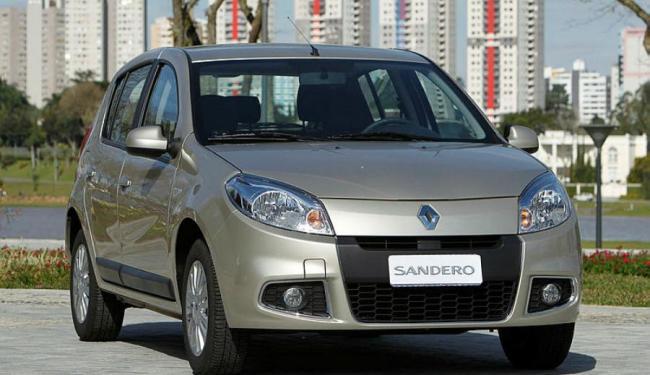 Sandero caiu na graça de quem deseja um hatch na Bahia - Foto: Renault