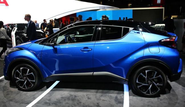 Toyota C-HR - Foto: Divulgação