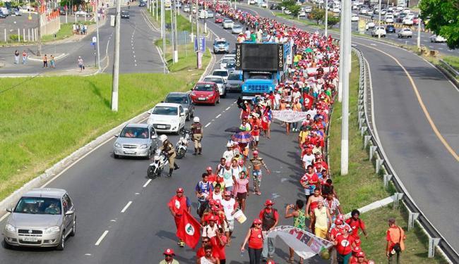 Com o impeachment, o movimento sente-se livre de qualquer compromisso - Foto: Edilson Lima | Ag. A TARDE