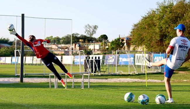Muriel deu mais segurança ao gol desde que chegou ao time - Foto: Felipe Oliveira   EC Bahia   Divulgação