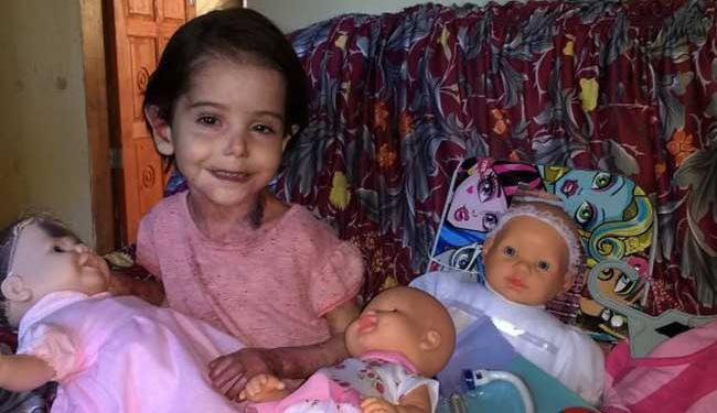 Doença da menina ainda não tem cura - Foto: Reprodução | Instagram