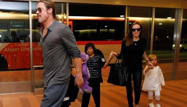 O ator Brad Pitt é investigado por suposta agressões os filhos - Foto: Issei Kato | Agência Reuters