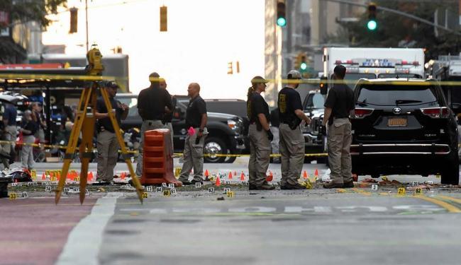 O incidente ocorreu em um bairro movimentado de Manhattan - Foto: Rashid Umar Abbasi | Agência Reuters