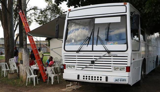 Os serviços médicos eram realizados no veículo - Foto: Divulgação l Secretaria de Saúde de Cruz Das Almas