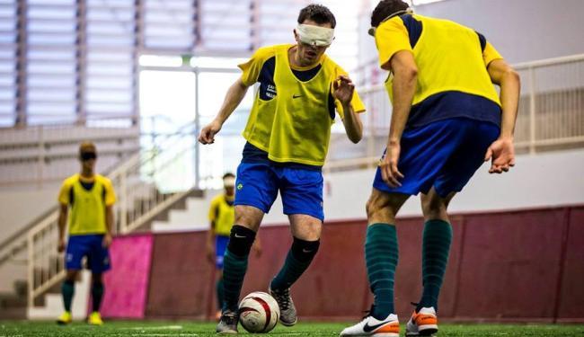 A Seleção brasileira do futebol de 5 está invicta desde 2006 - Foto: Divulgação | CPB