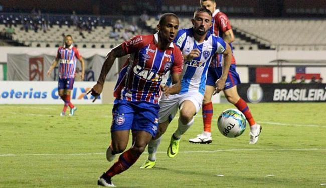 Tricolor jogou mal em Belém e sofreu a primeira derrota no returno da Série B - Foto: Fernando Torres l Paysandu l Divulgação