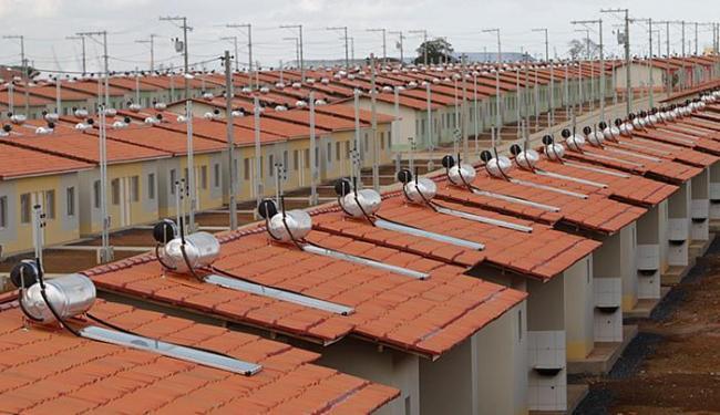 Placas solares em condomínio do Minha Casa: estado esta caminha para ser principal produtor do país - Foto: Raul Golinelli l Gov-BA