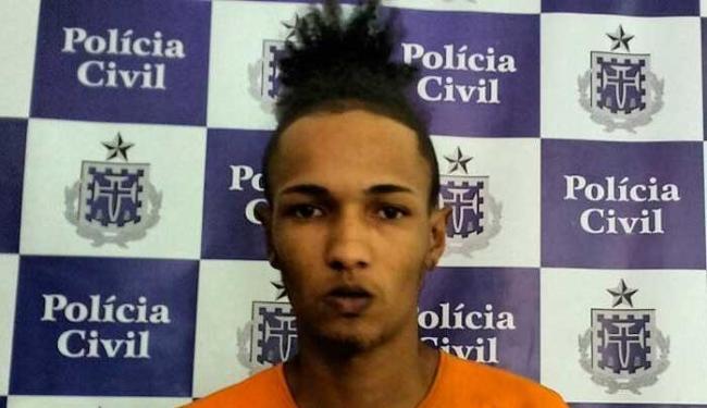 O acusado foi preso em uma diligência da Rondesp/Central - Foto: Divulgação | Ascom-PC