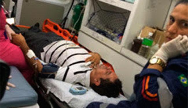 Prefeito foi atendido reclamando de dores e com escoriações leves - Foto: Reprodução | Mídia Bahia