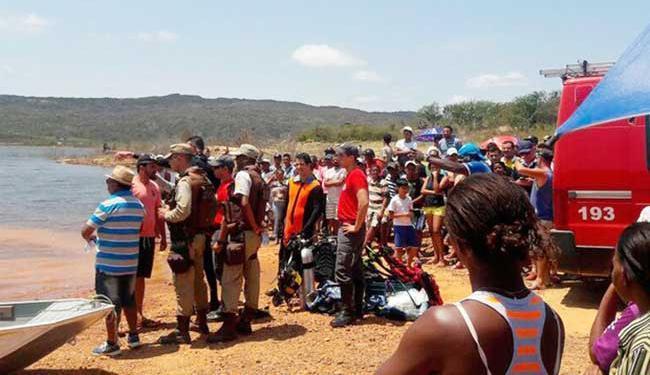 Corpos foram encontrados na tarde desta quinta-feira - Foto: Divulgação   Polícia Militar