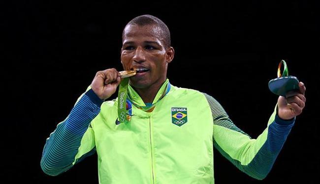 Robson Conceição conquistou ouro histórico na Olimpíada - Foto: Peter Cziborra l Reuters