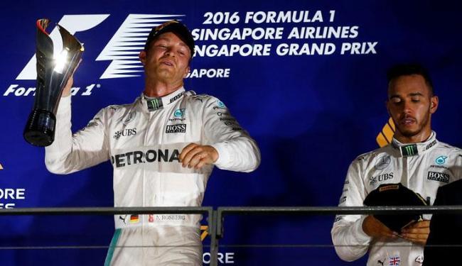 Hamilton perdeu a liderança do campeonato para Rosberg - Foto: Jeremy Lee | Reuters