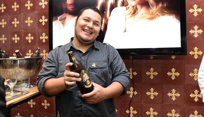 O beer sommelier Samuel Hoshino participará de um evento promovido pelo Baby Beef Alvarez - Foto: Luciana Prezia | Divulgação