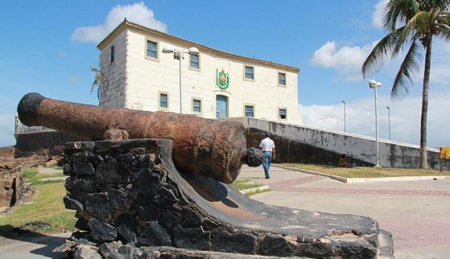 Forte de Santa Maria tem relação histórica com espanhóis - Foto: Joá Souza | Ag. A TARDE