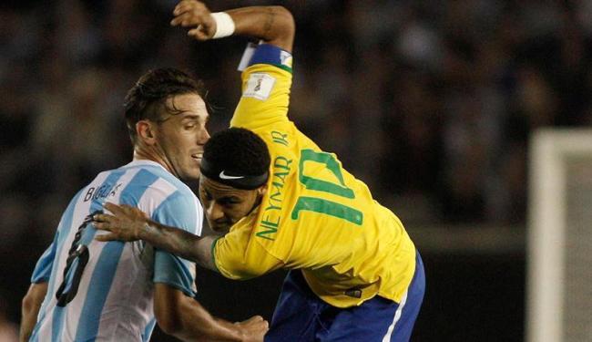 Enquanto o Brasil está na quarta posição, a Argentina garante a primeira colocação - Foto: Enrique Marcarian   Ag. Reuters