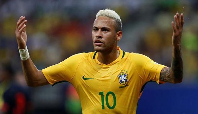 Neymar deu assistência no primeiro gol e marcou o segundo - Foto: Paulo Whitaker   Ag. Reuters