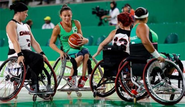 A Seleção Brasileira feminina de basquete em cadeira de rodas perdeu para o Canadá por 82 a 49 - Foto: Washington Alves l CPB