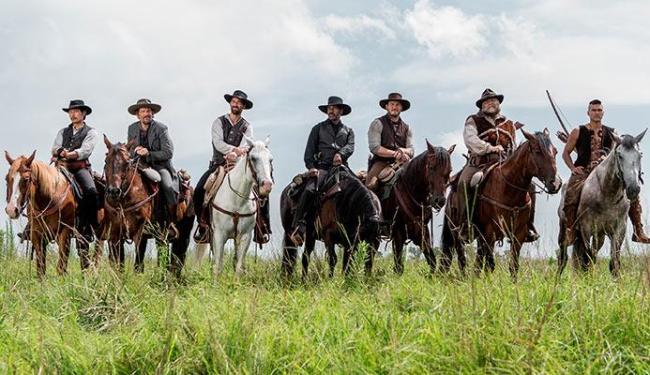 Sete Homens e um Destino traz bons atores em um roteiro atualizado - Foto: Divulgação