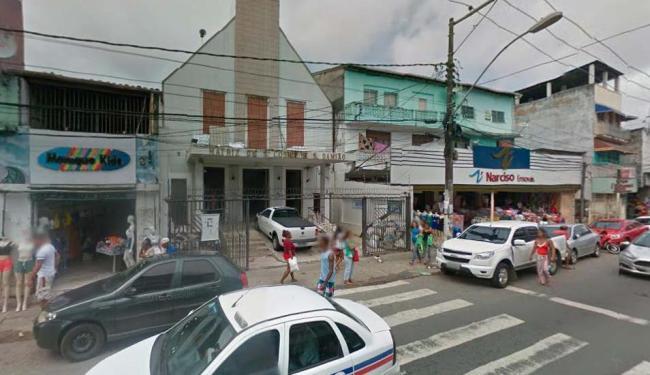 Tráfego será modificado na rua Lima e Silva, entre o trecho da Pero Vaz e o largo da Soledade - Foto: Reprodução | Google Maps