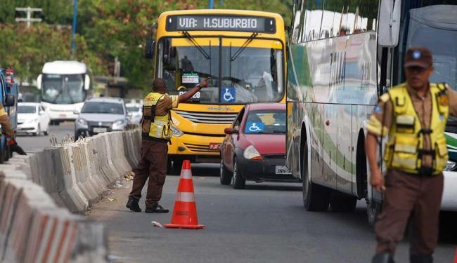 Seis eventos mudam trânsito em Salvador - Foto: Joá Souza | Ag. A TARDE